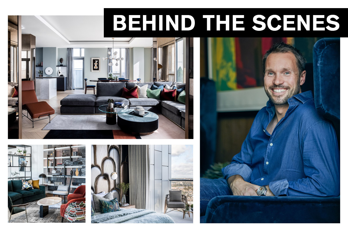 Behind the Scenes with Richard Angel