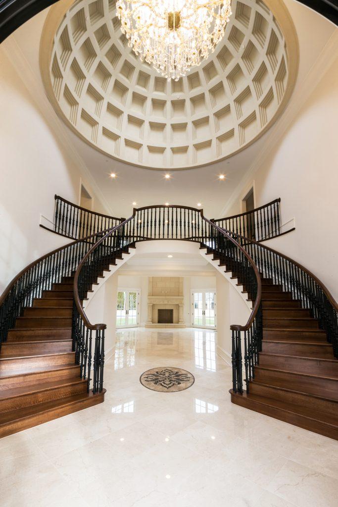 , Villa Incorporates Italian Details and Custom Pieces