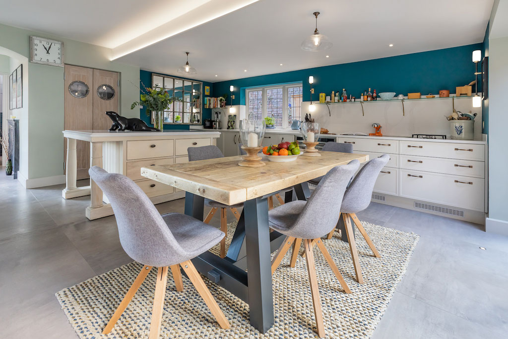 Modern Kitchen Remodel Transforms Communal Space