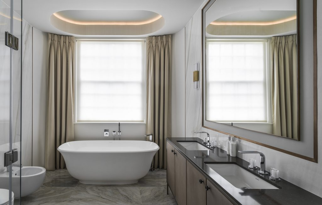 , Stucco-Fronted Victorian Project Undergoes Refurbishment