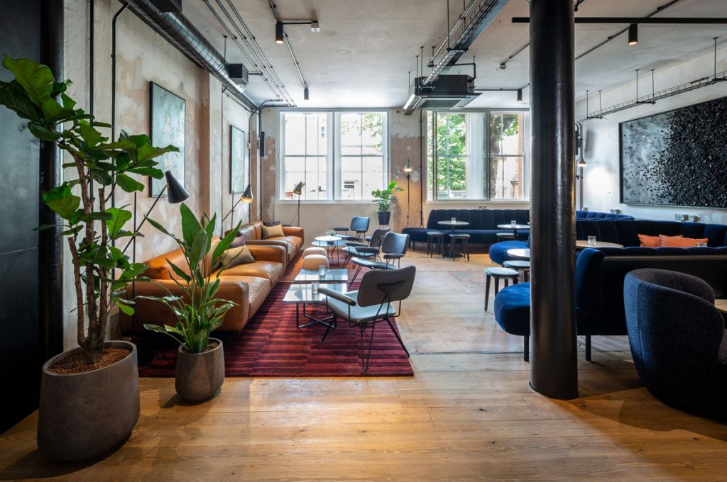 Victorian Printworks Turned Workspace and Members Club