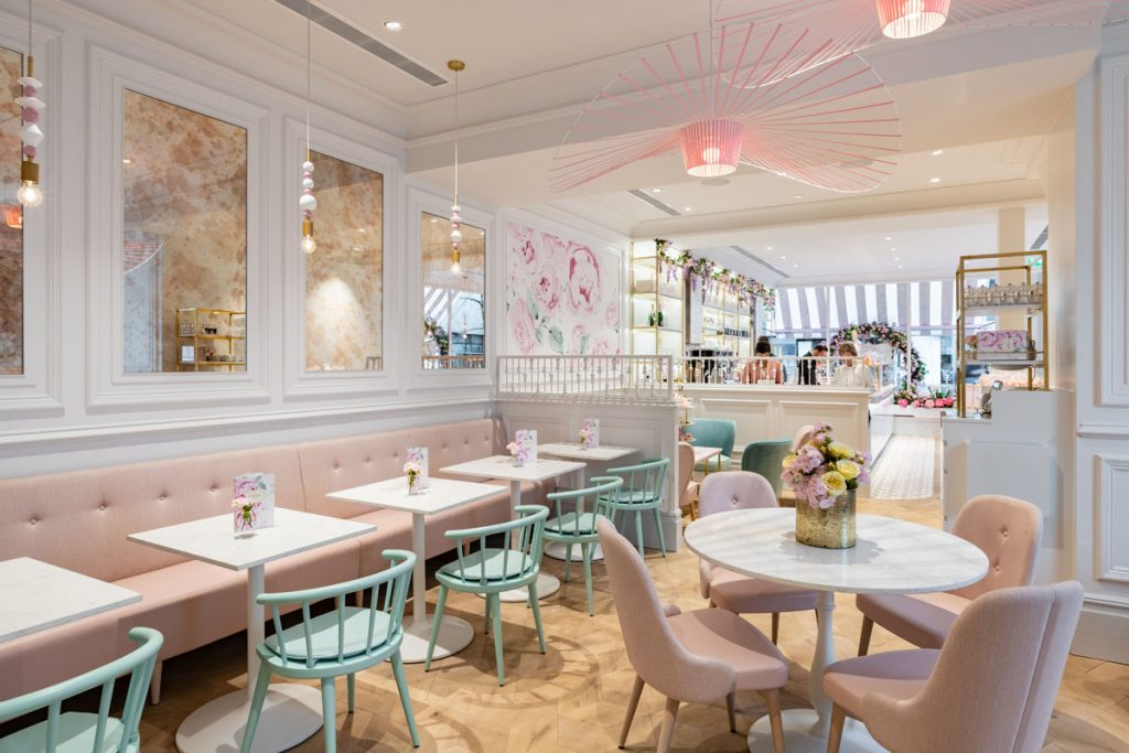 , Restaurant Design Creates All Day Destination For Flagship Store