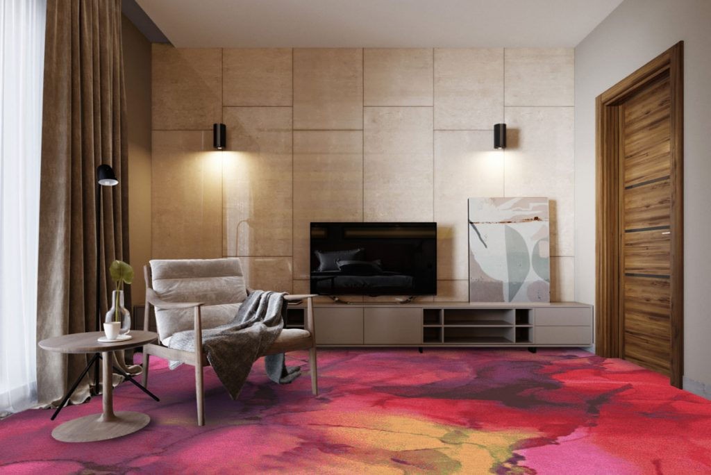"A Designer's ""Retreat"" During COVID-19 Lockdown Inspires a New Carpet Collection"