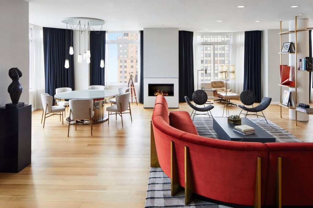 Luxury Hotel Suite Design Exudes Timeless Residential Feel