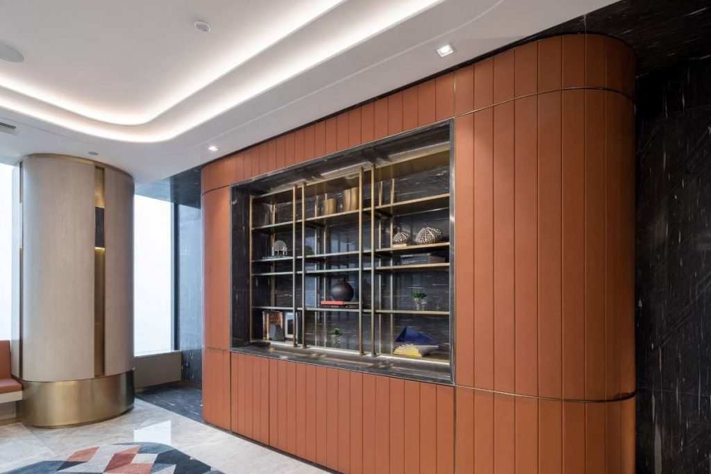 , Client-Focused Office Design Creates Strong First Impression