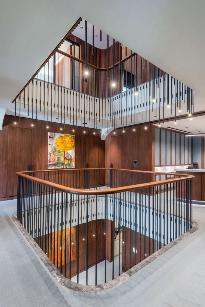 , Office Renovation In Pre-War Building Preserves Legacy