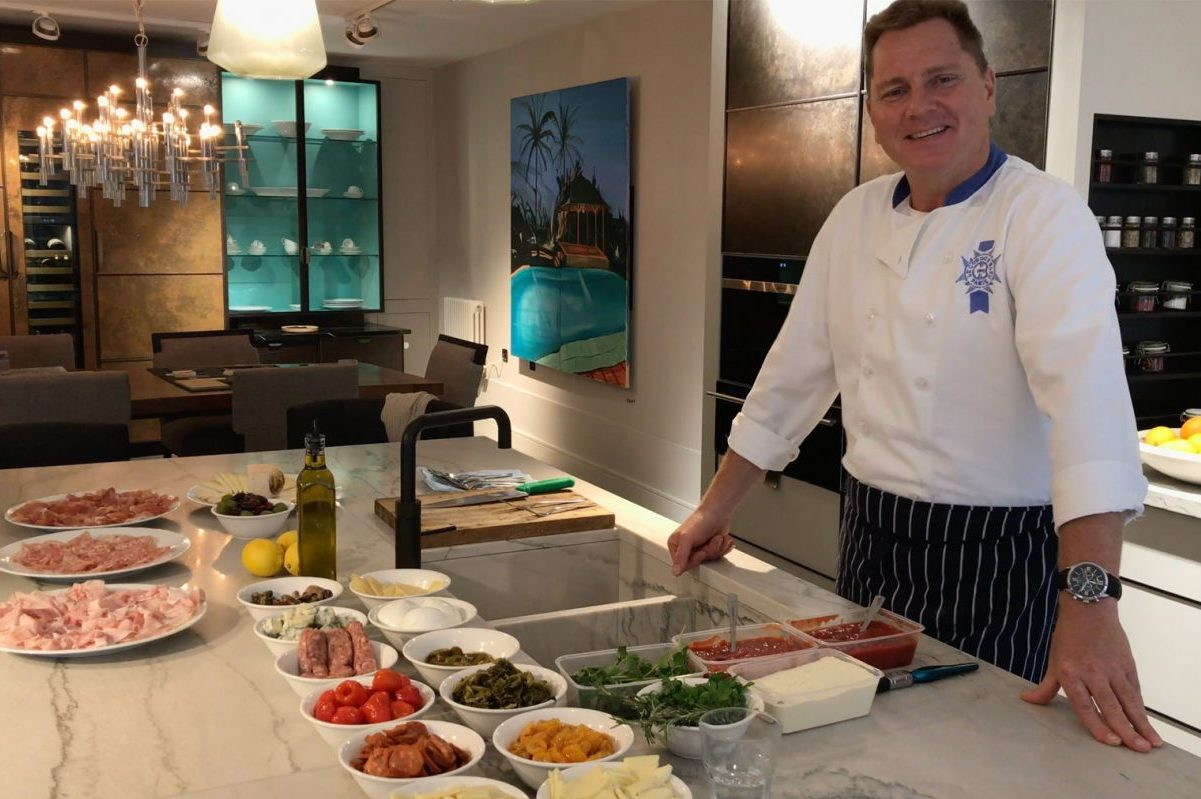 Interview & Demonstration With Marco Melino of Da Mario Restaurant Kensington