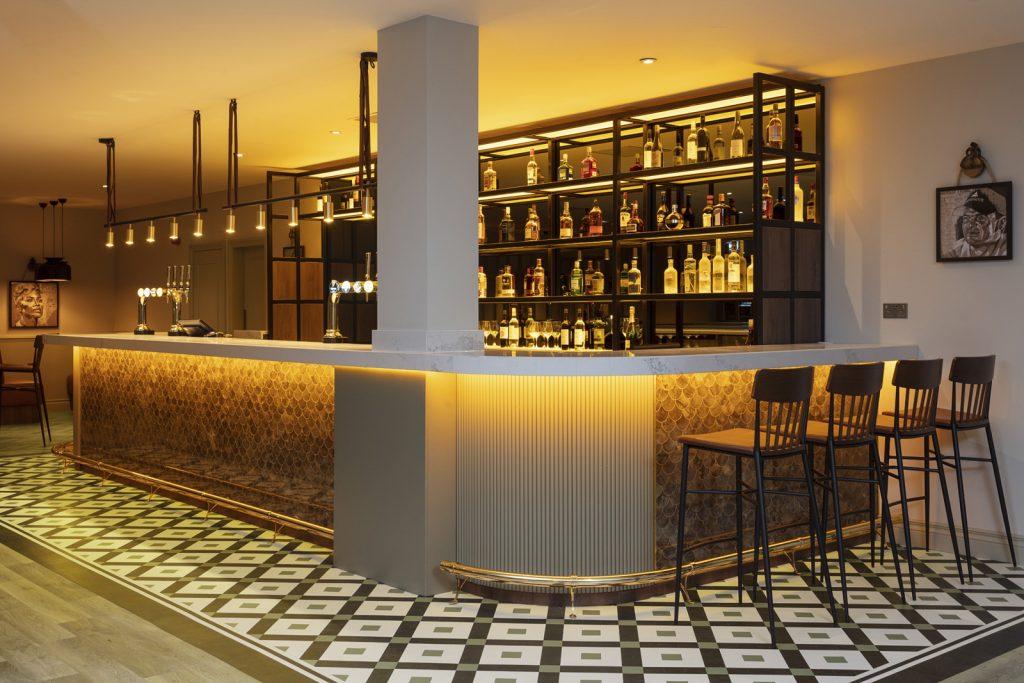 design for visitor experiences, Karndean Design Contemporary Flooring For Hotel Social Space