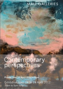 ", ""Contemporary perspectives"" @Mall Galleries 24-29 April 2012"