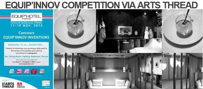 Calling all international design & architecture students! ArtsThread's competition is free                & open - deadline 8th October 2012