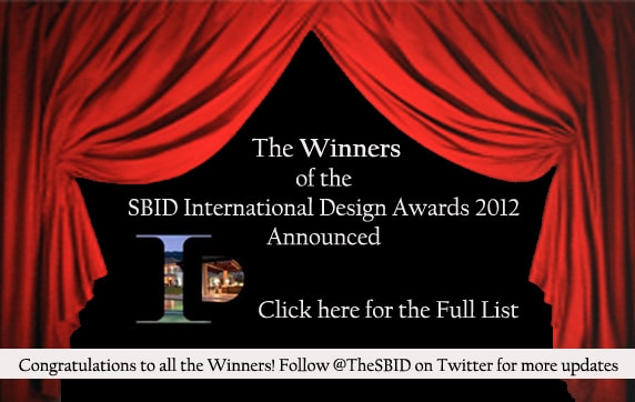 The 2012 SBID Awards winners list has been revealed!