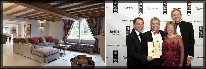 Sbid members jamie hempsall won best interior design at for Interior design awards uk