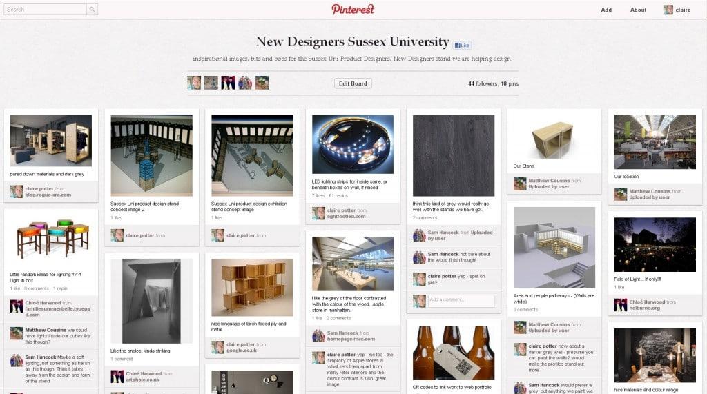 Pinterest: the how and why for interior designers. Part one