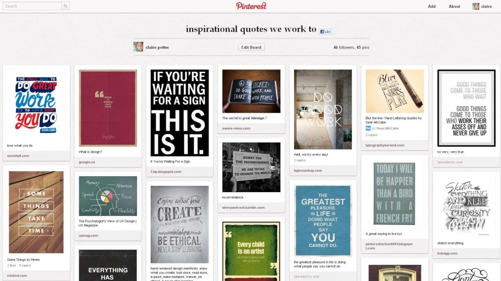 Pinterest. The how and why for interior designers: our top ten tips. Part two