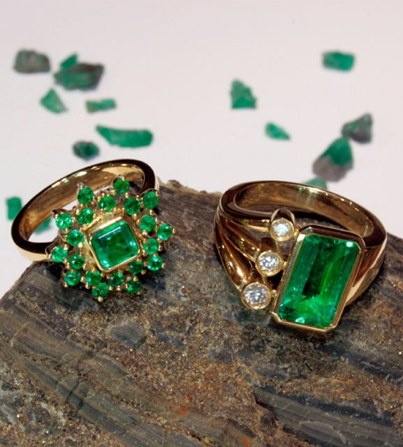 Emerald – the Pantone colour of 2013
