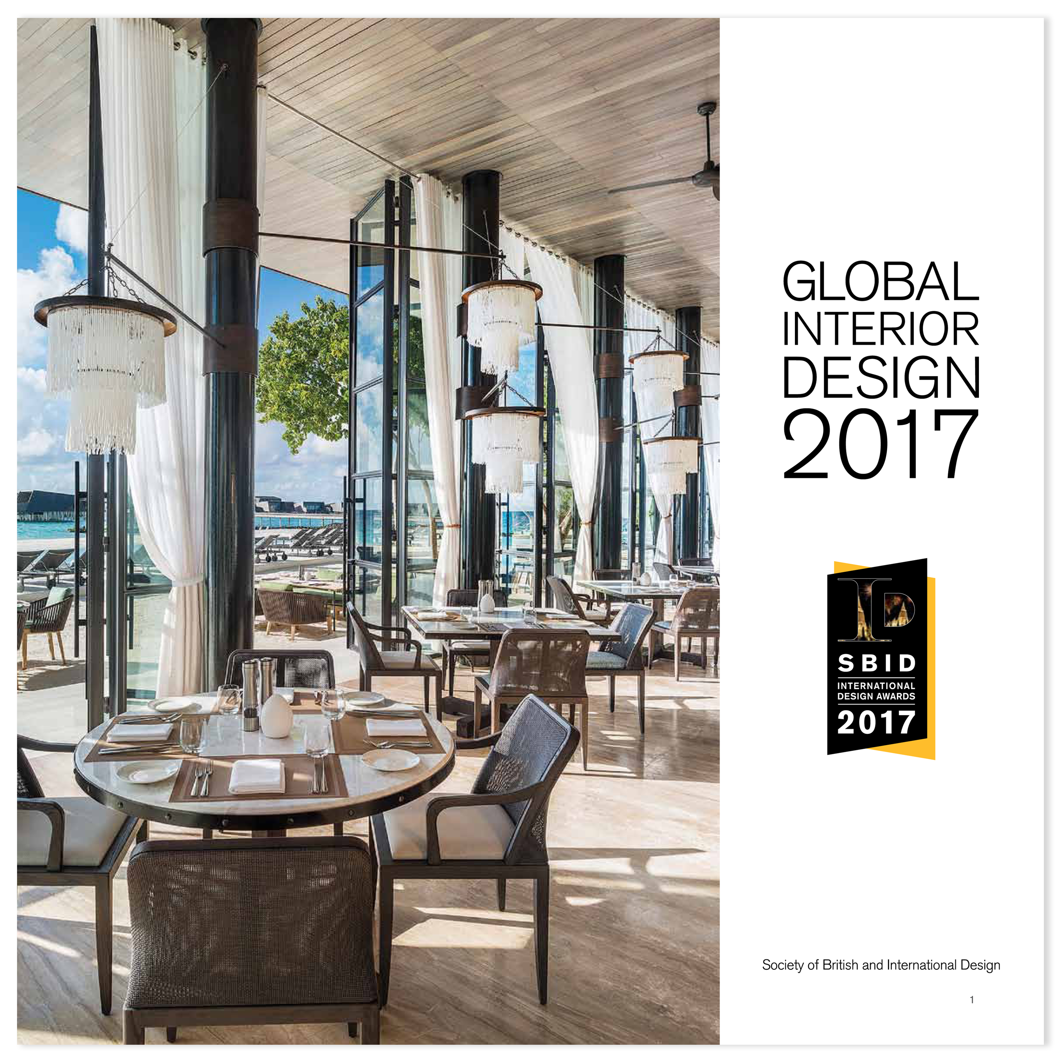 Sbid publications society of british and international for Interior design awards uk
