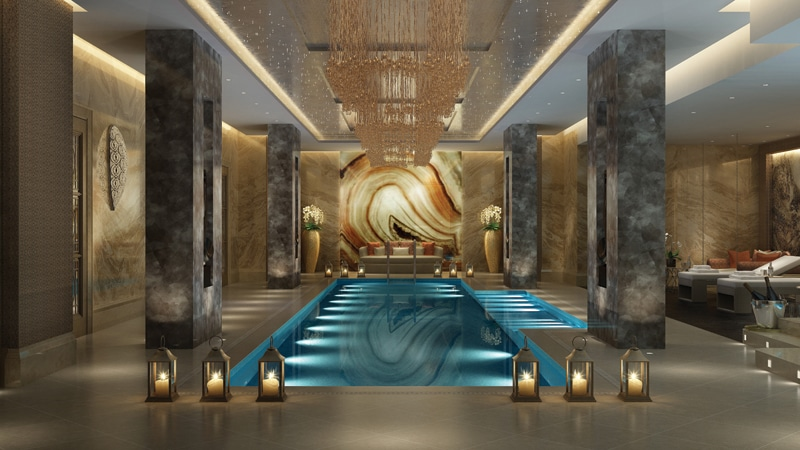 Hill House Spa Interior Design