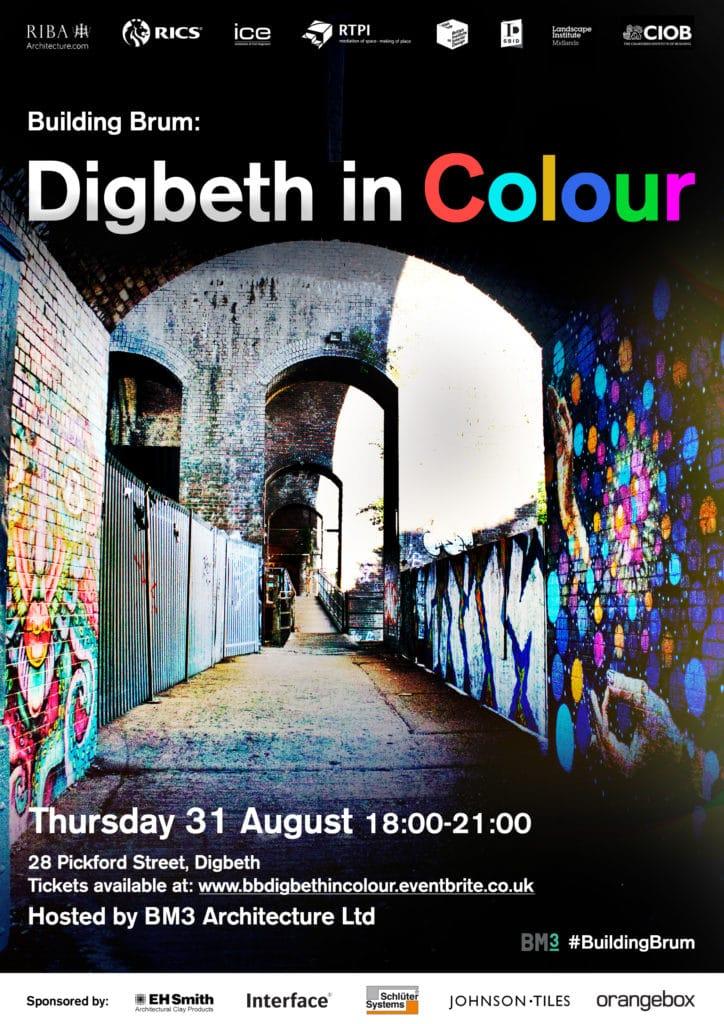 Building Brum Digbeth in Colour, Interior Design, RIBA, Architects