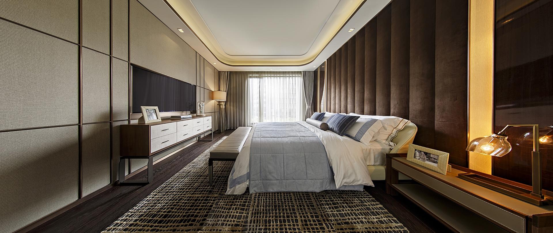 China, Bedroom, Bedroom Interiors, Bedroom Design, Interior Design, Shanghai, China