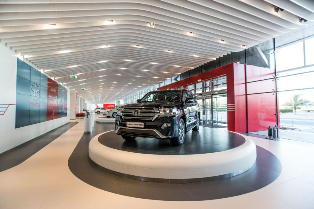 Cars, Middle East, UAE, Toyota, Toyota Flagship