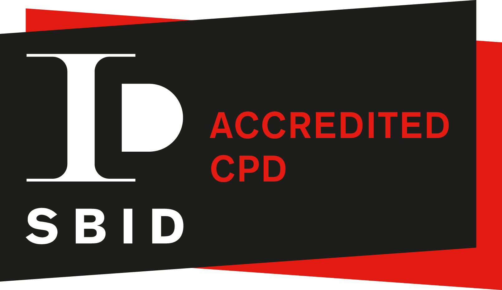 SBID Accredited CPD Logo