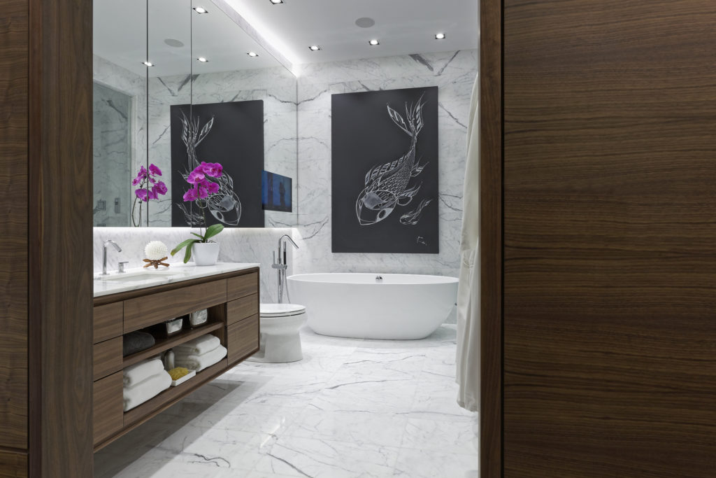 Interiors, Interior Design, Bathroom, Bathroom Design, Canada, Toronto
