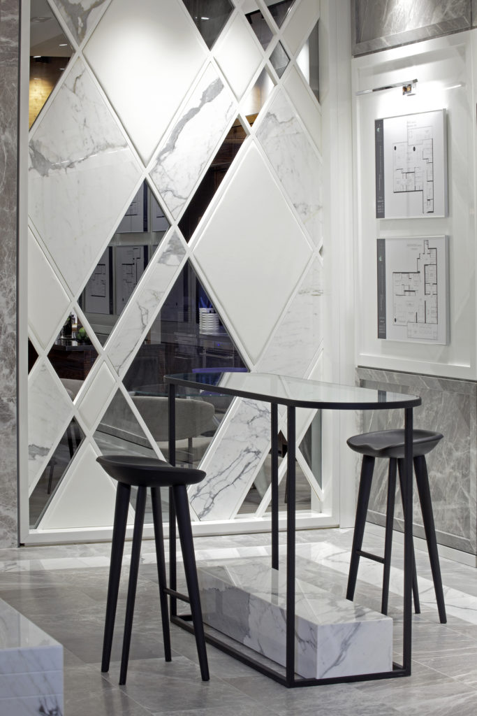 Interior Design, Design, Canada, Show Flats, Toronto, Mirror, Marble, Luxury Design