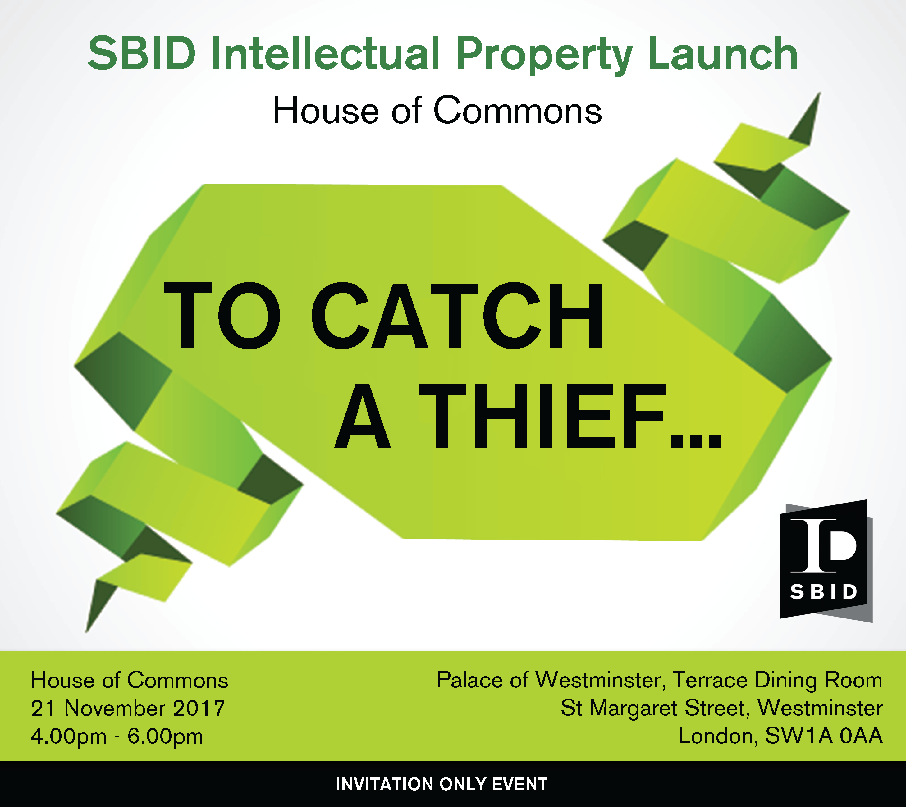 Global Intellectual Property: SBID Intellectual Property Launch