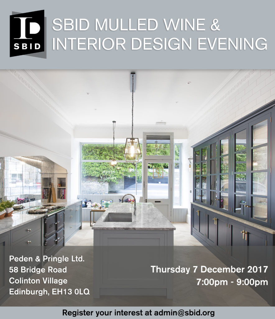 Sbid mulled wine interior design evening society of for Interior design events