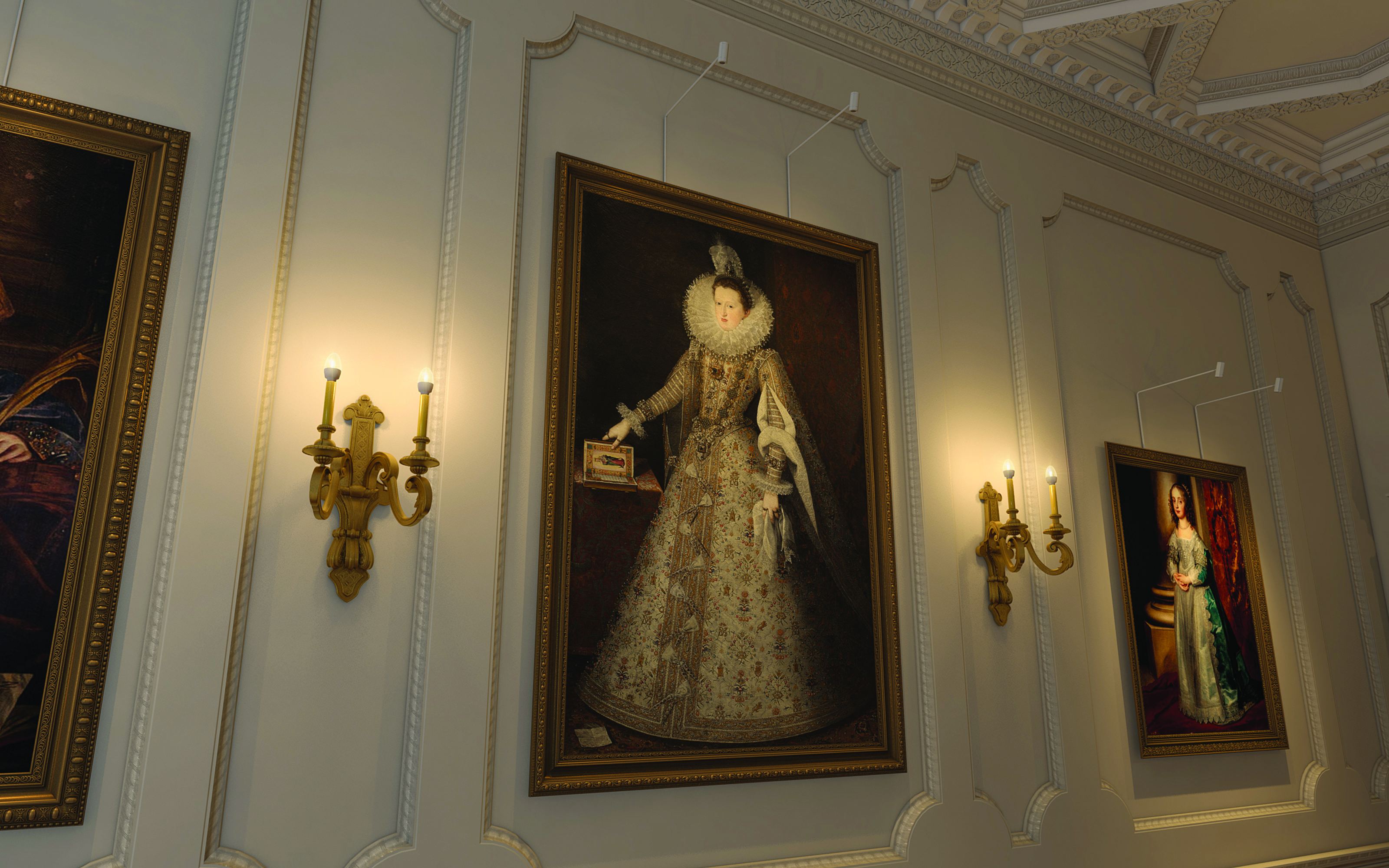 Hampton Court Palace, Gallery, Art
