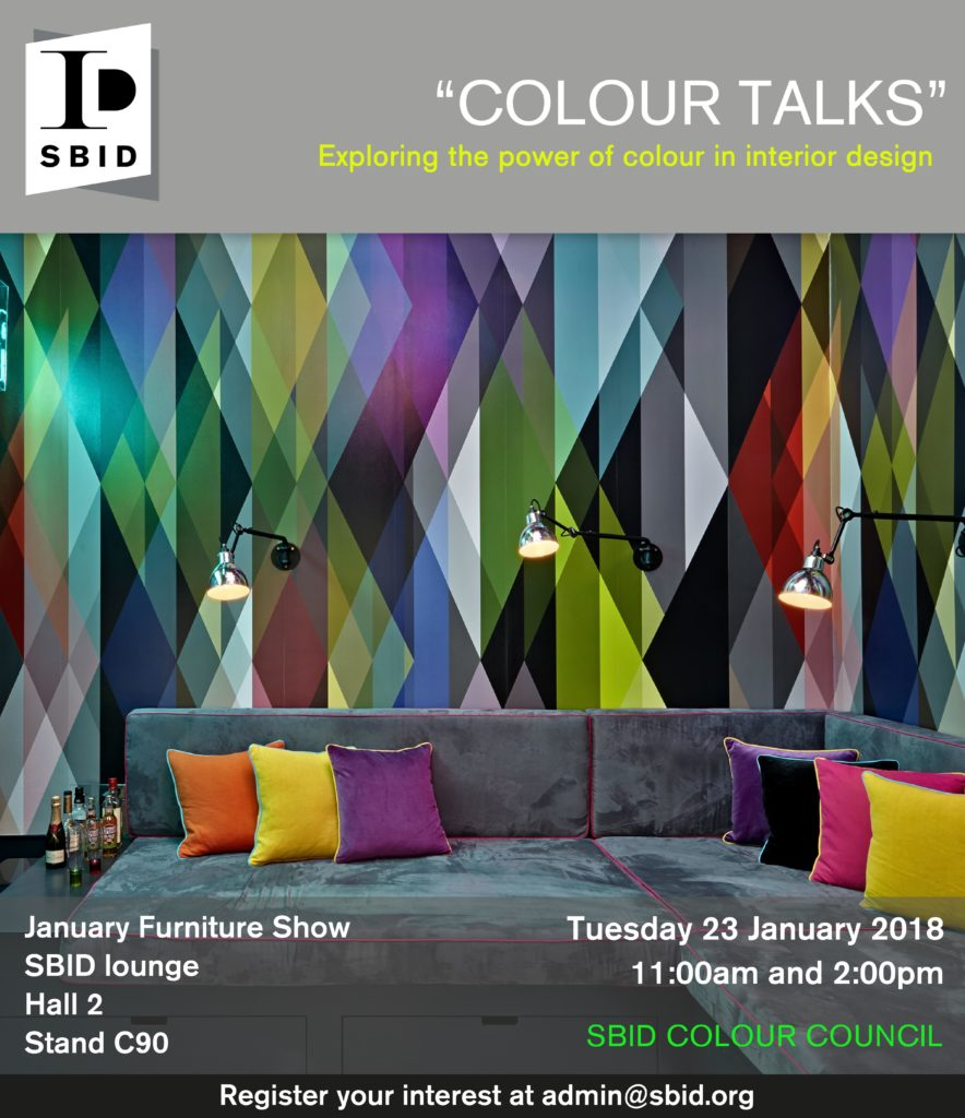 Colour Council Talk at January Furniture show