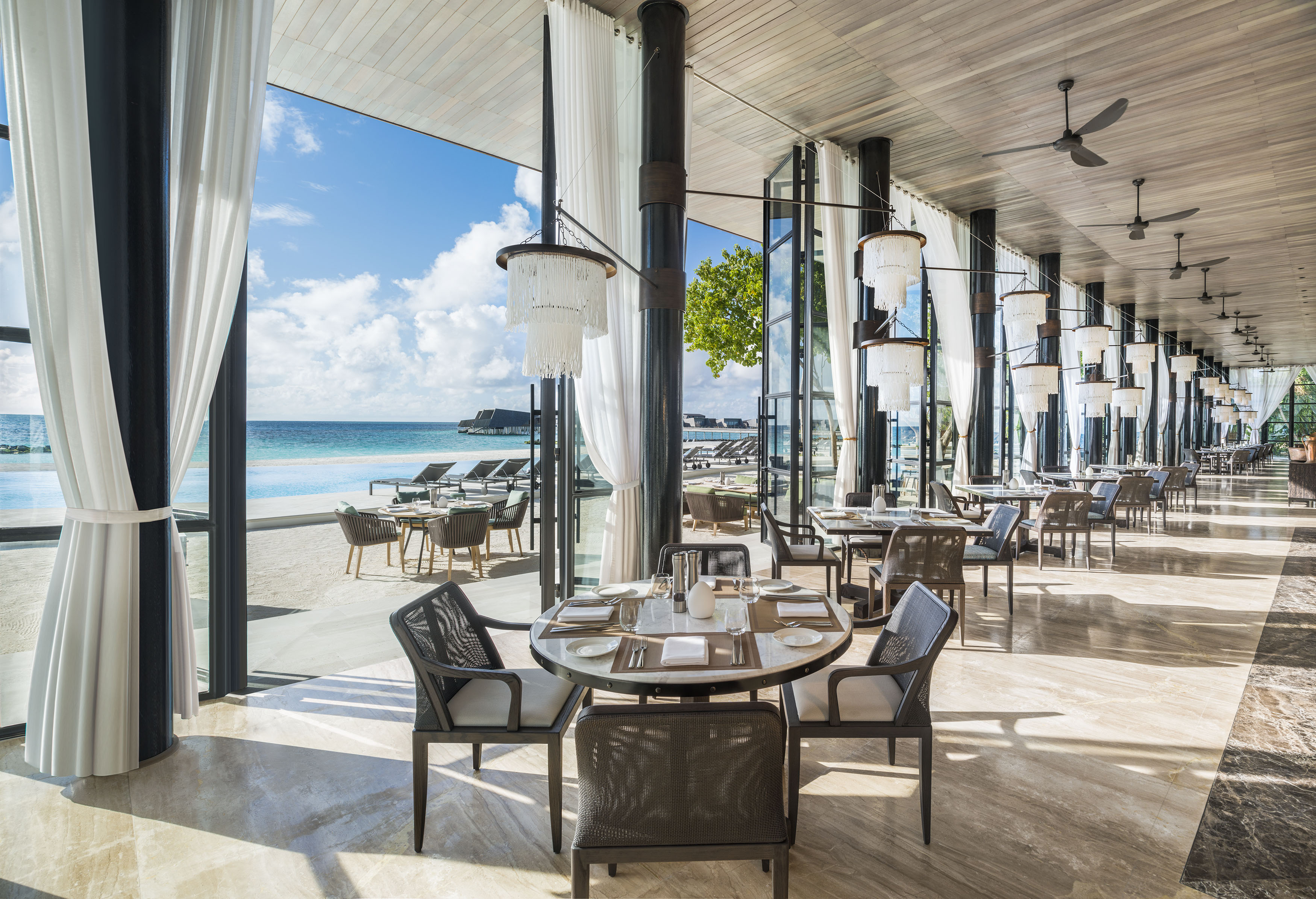 The Whale Bar, Maldives, Interior Design, Architecture, Luxury Holiday, WOW Architects, Beach Getaway, Wanderlust, Architecture. St Regis