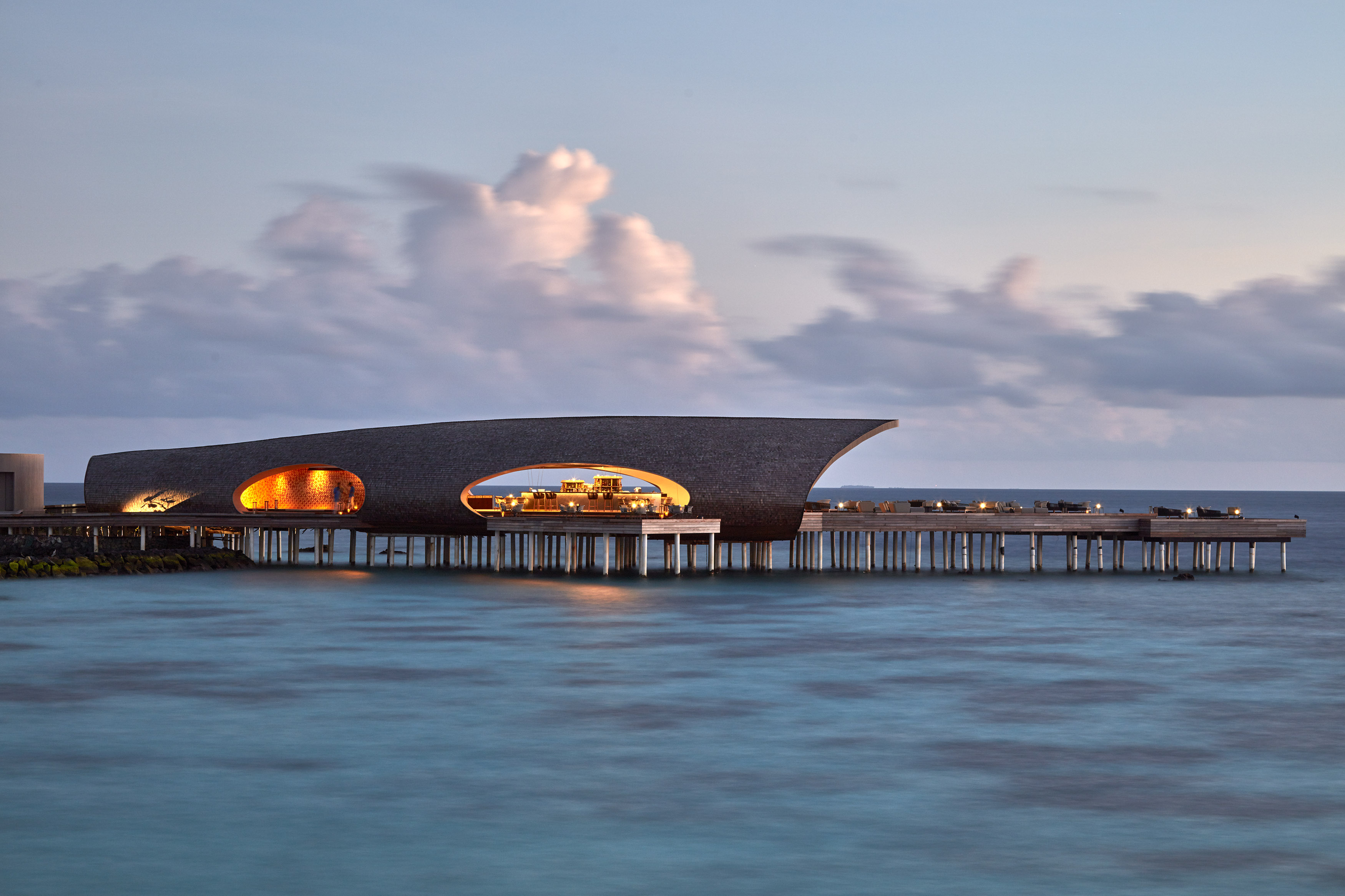The Whale Bar, Maldives, Interior Design, Architecture, Luxury Holiday, WOW Architects, Beach Getaway, Wanderlust, Architecture, St Regis