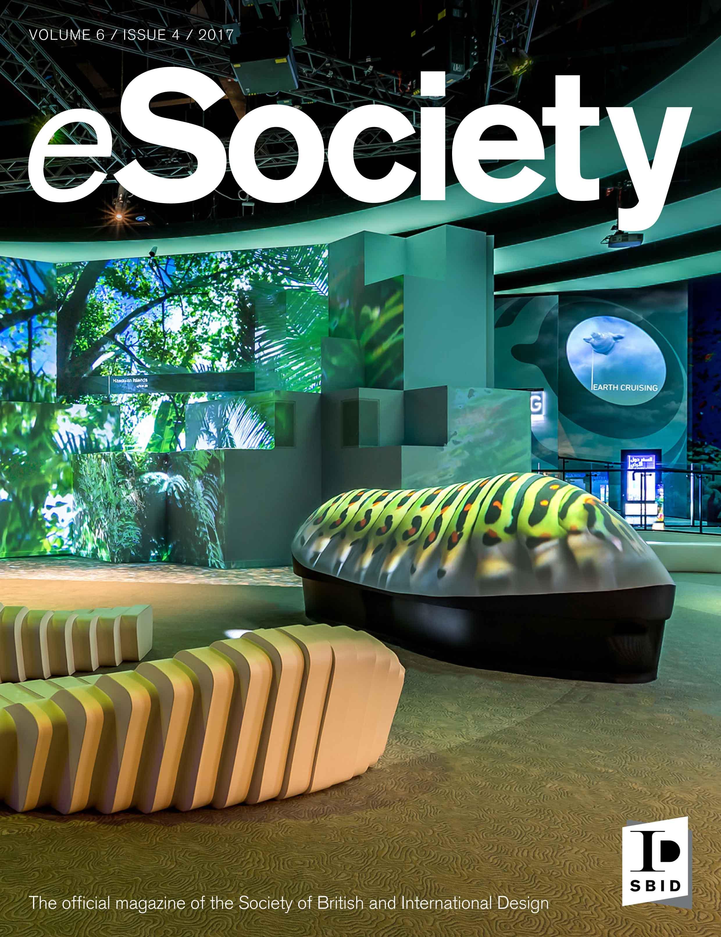 SBID interior design magazine, eSociety, Volume 6 Issue 4