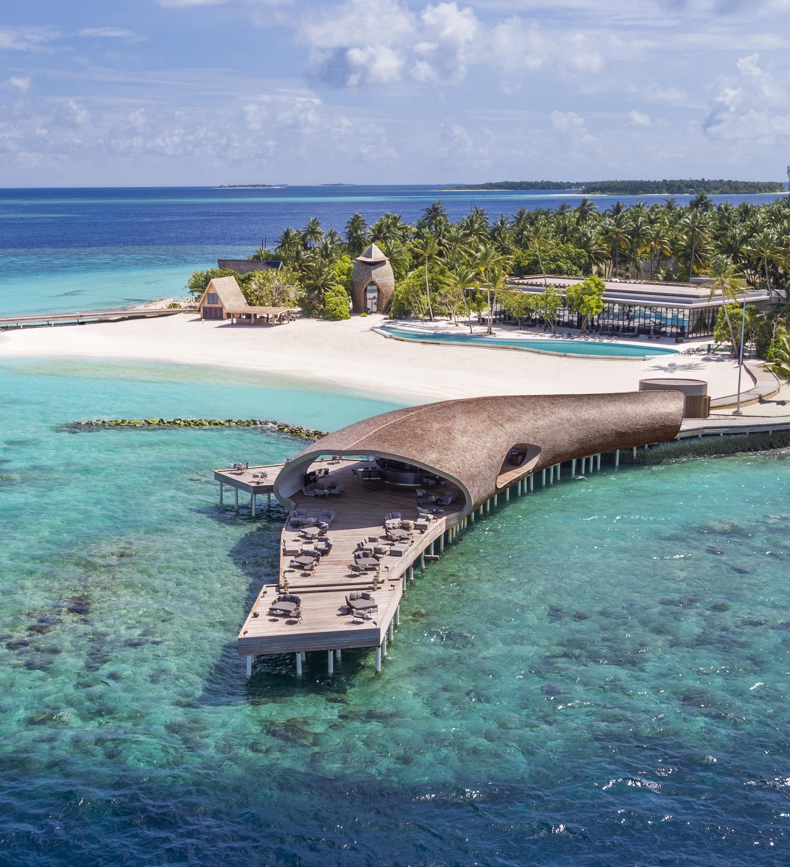 The Whale Bar, Maldives, Interior Design, Architecture, Luxury Holiday, WOW Architects, Beach Getaway, Wanderlust, Architecture
