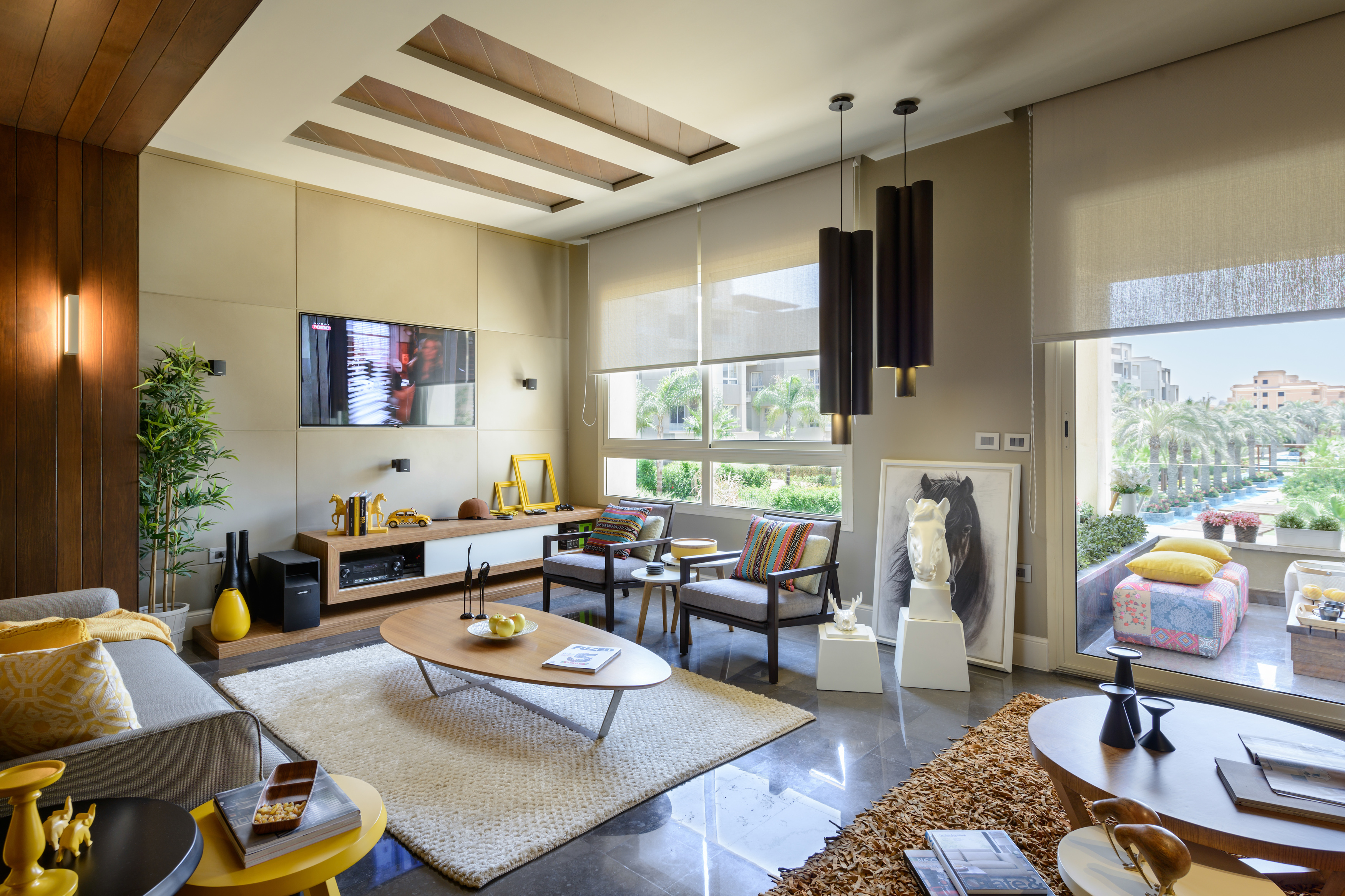 Interior Design. Luxury, Egypt, Cairo