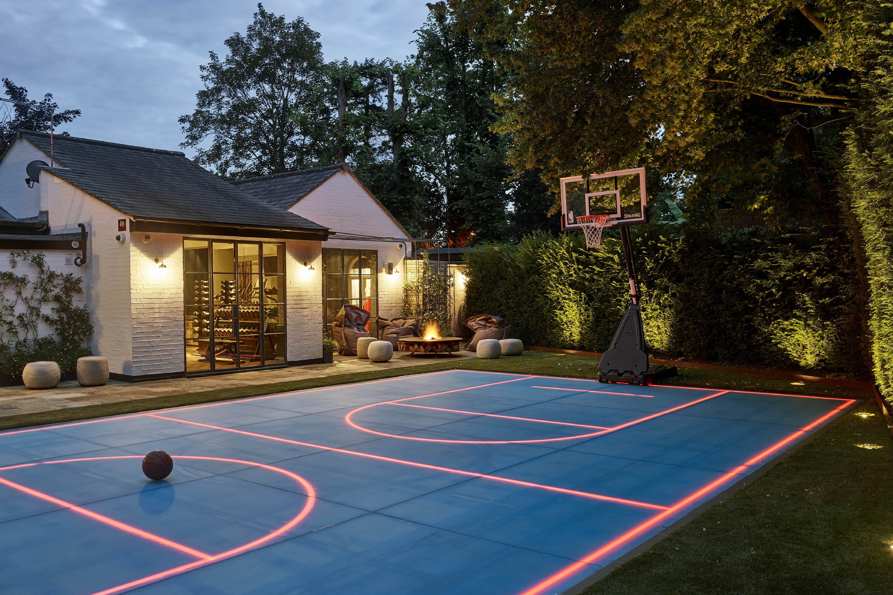 Clare Gaskin Interiors, Basketball Court, Luxury Design, Design