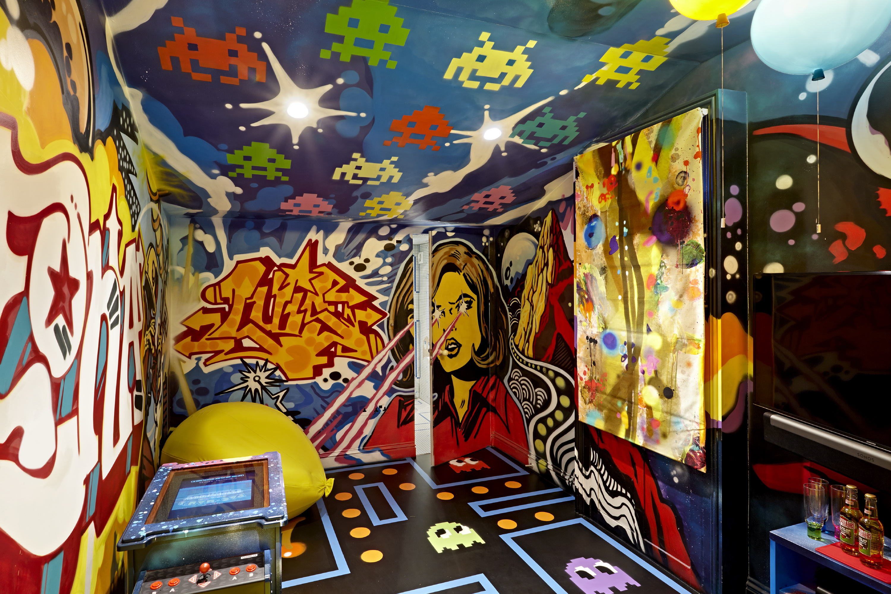 Interior Design, Surrey Fun House, UK, Clare Gaskin
