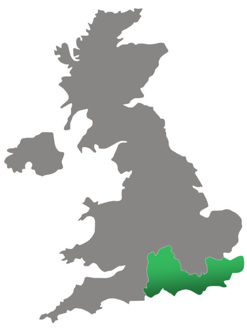 Regional director map for South East