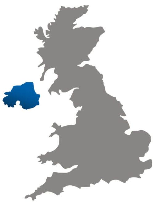 Regional director map for Northern Ireland