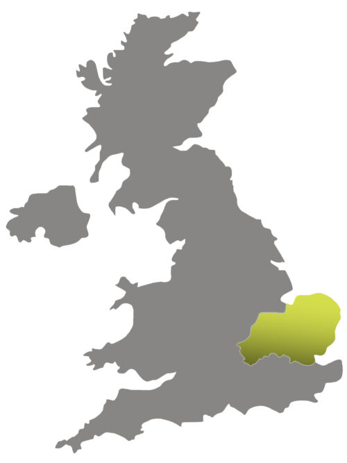 Regional director map for East Anglia