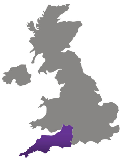 SBID Regional Director map for South West