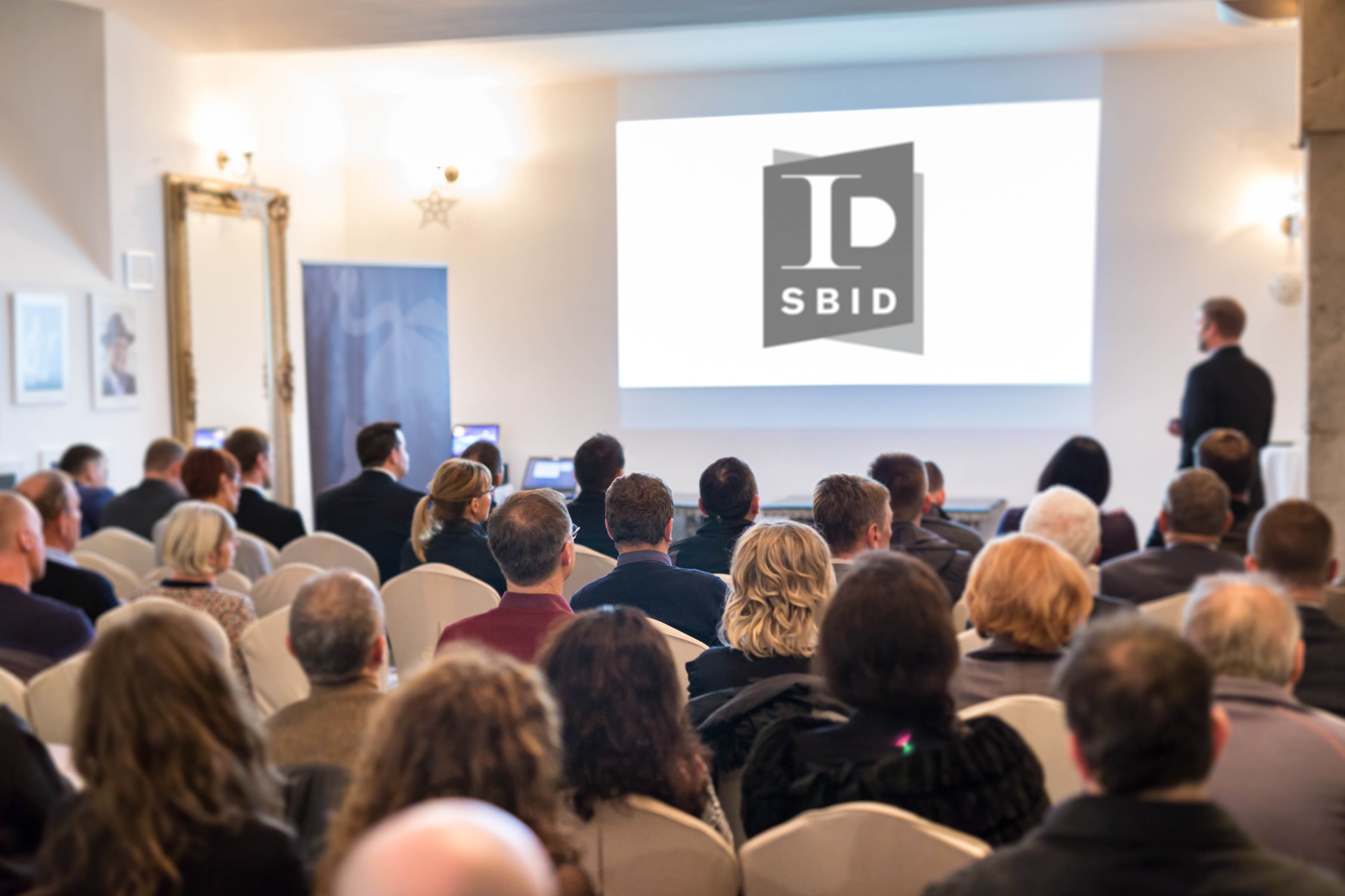 SBID members at an accredited interior design CPD for continuing professional development