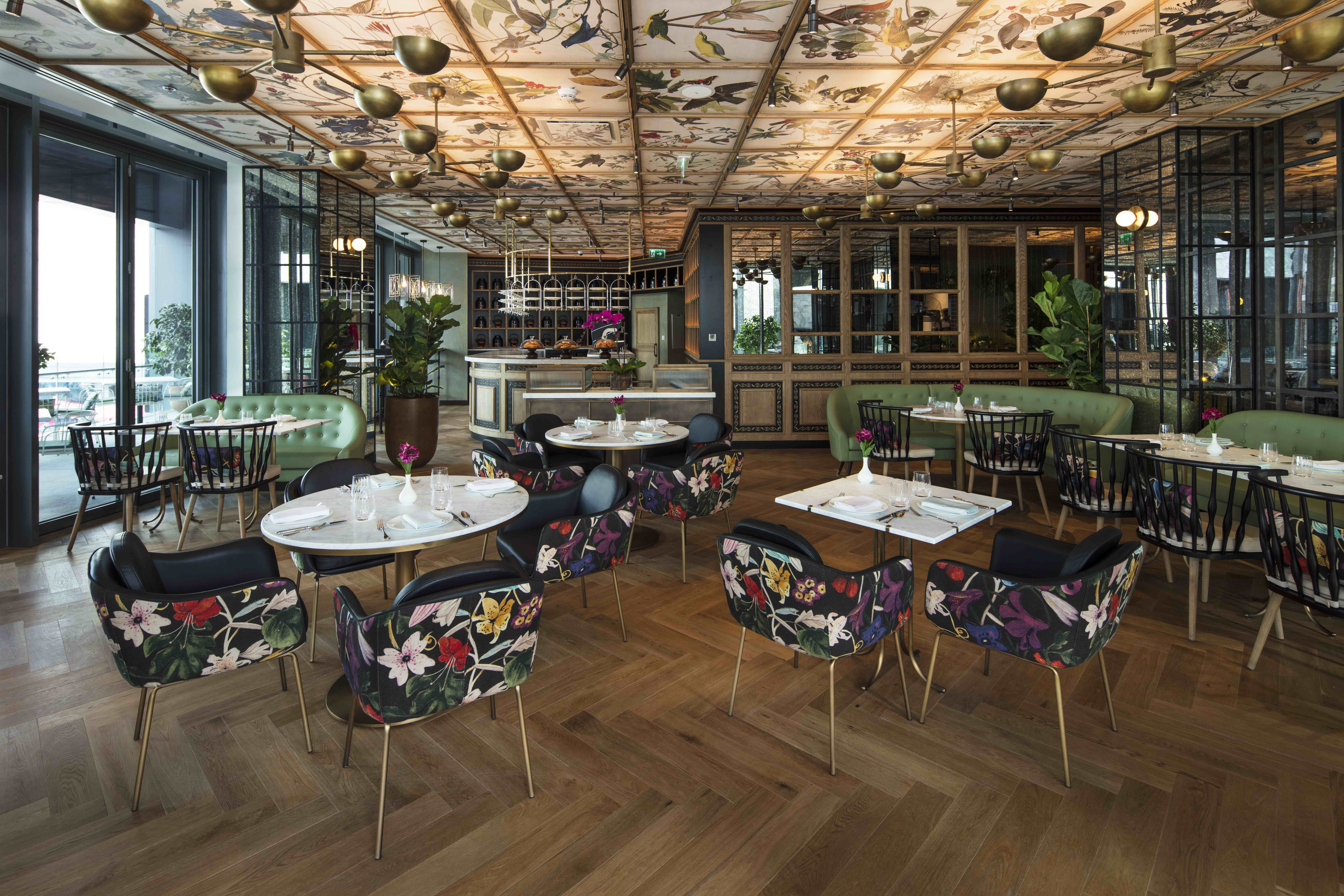 Demoiselle by Galvin restaurant interior design concept