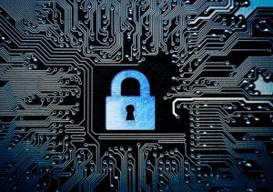 padlock symbolising protecting personal data
