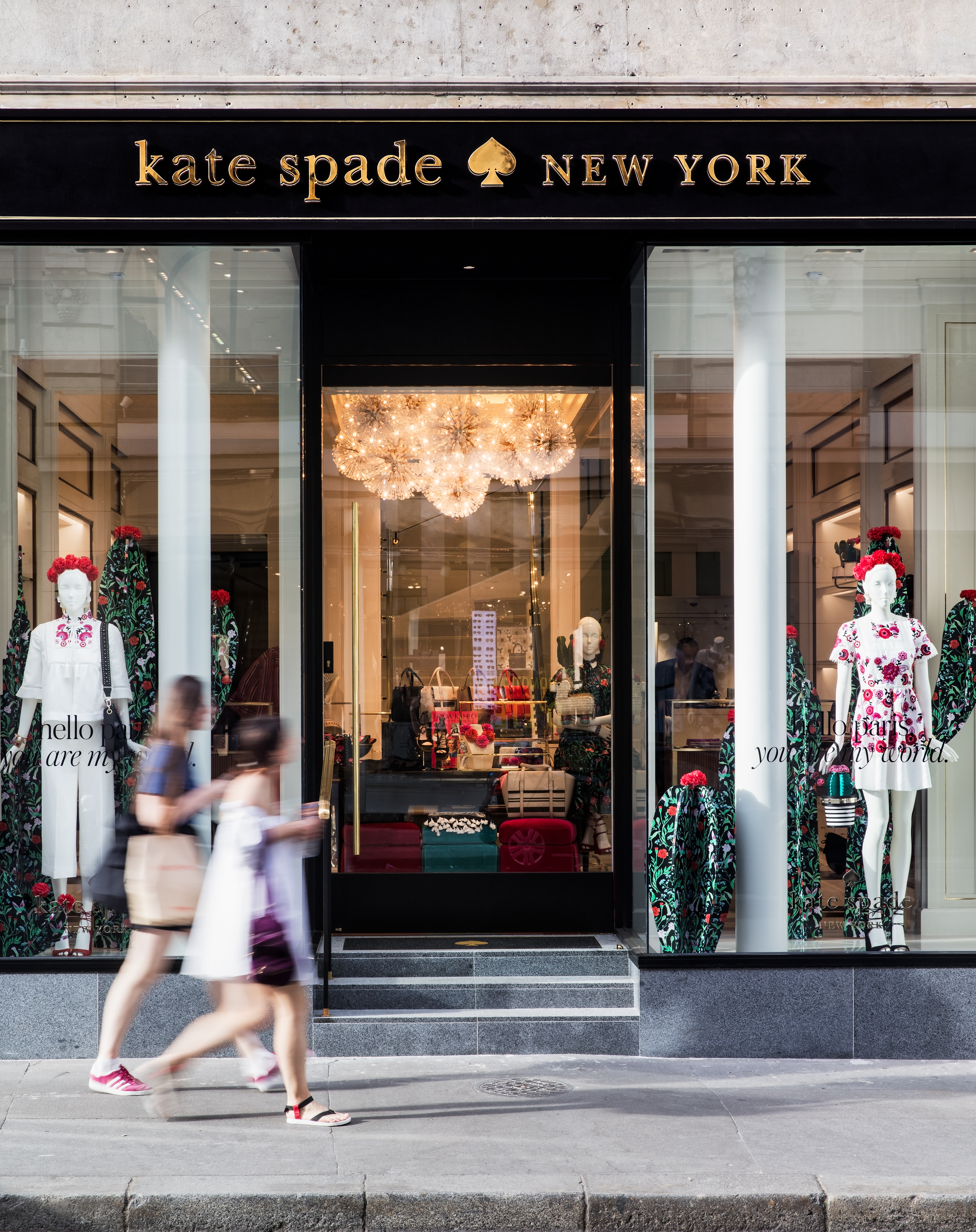 Interior Design, Project Of The Week – Kate Spade, Paris