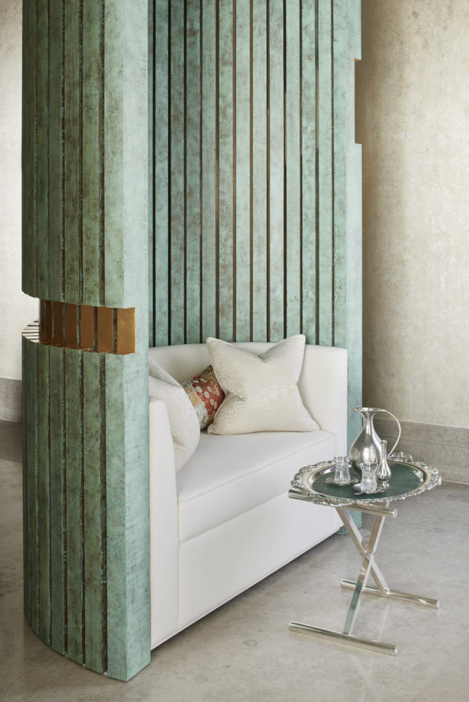 Kuwait interior design project in Kuwait City by Katharine Pooley, London