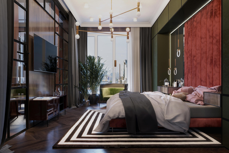 Interior design bedroom