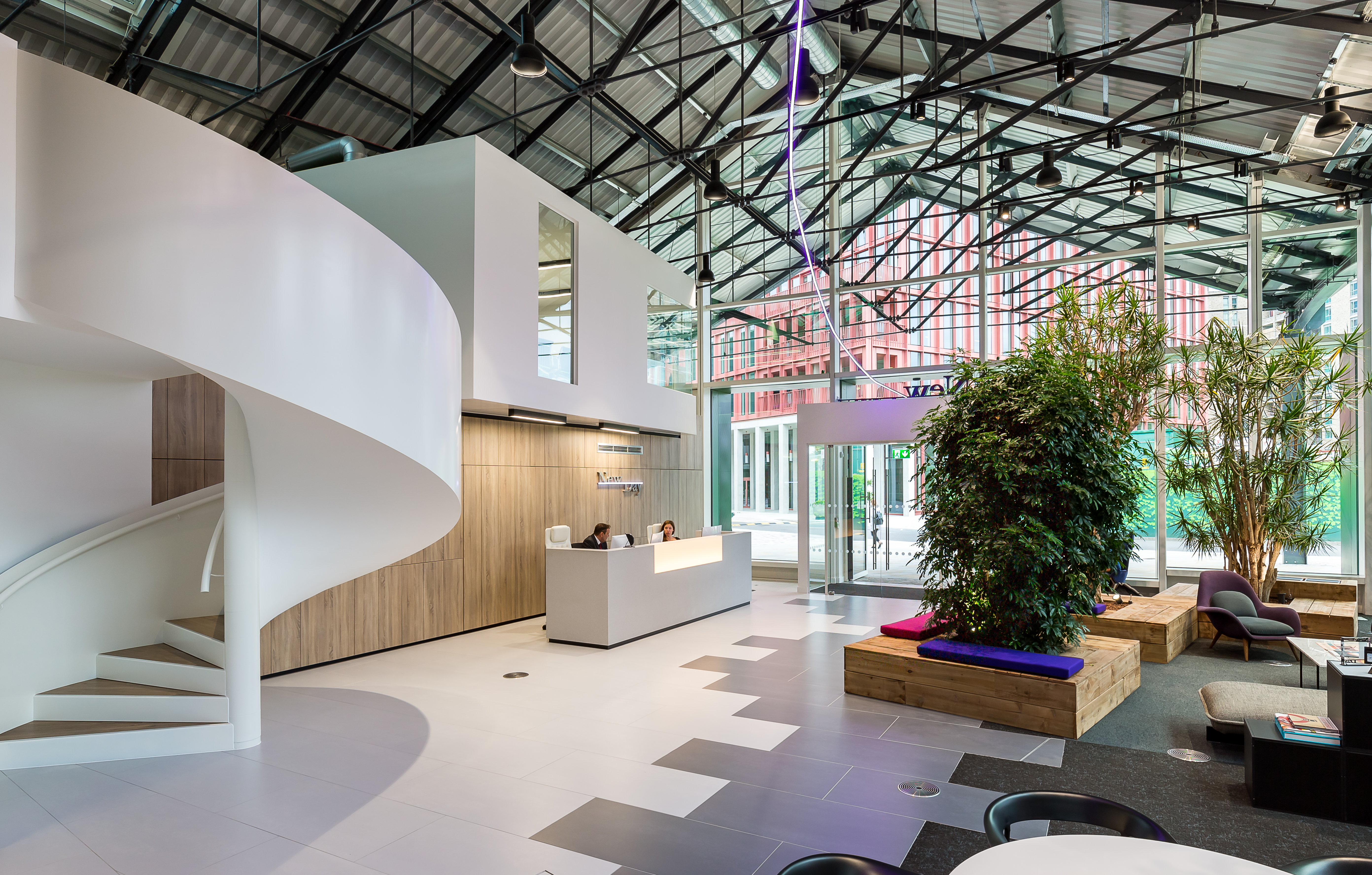 Sbid interior design blog project of the week newday - Interior design office space ...
