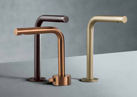 Aboutwater interior design trend for taps at Salone del Mobile
